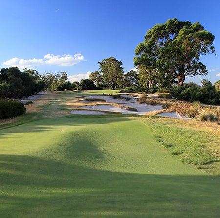 photo of the famous Melbourne Sandbelt golf courses