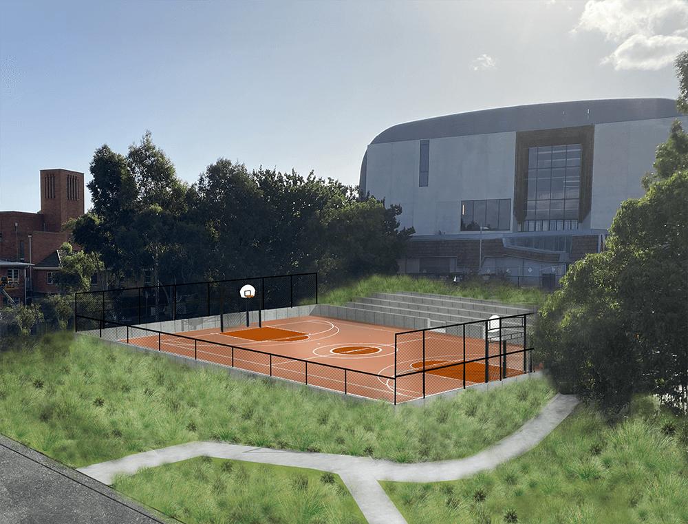3D visualisation of a futsal Field of Play